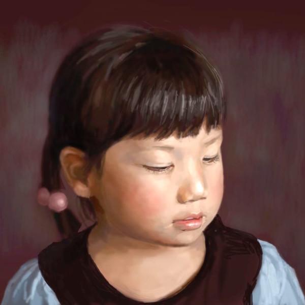 次女の肖像