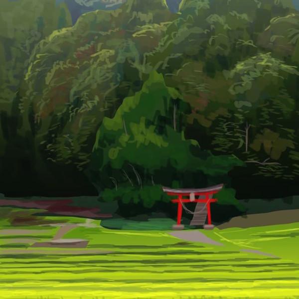 神様の住む森
